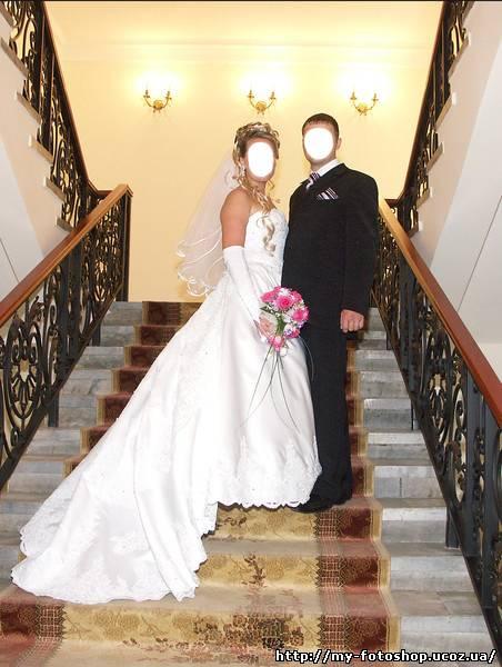 """шаблон """"Жених и невеста""""."""