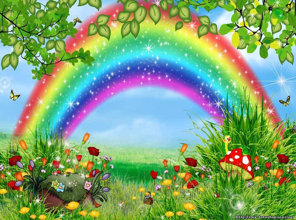 Картинки цвета радуги по порядку 3